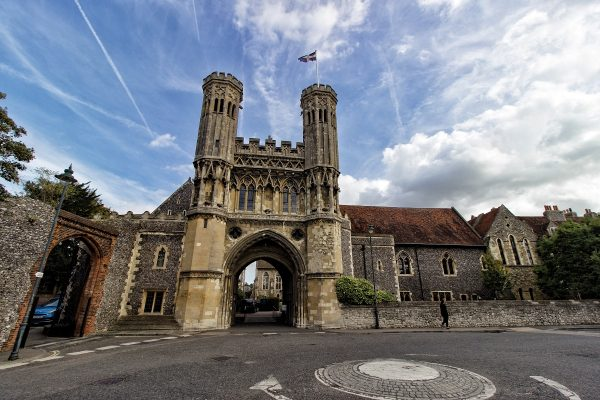 Porte de l'abbaye Saint-Augustin de Canterbury