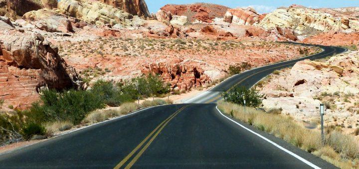 Les routes parcourues lors d'un roadtrip dans l'ouest américain