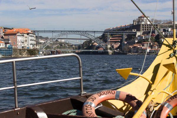 Balade en bateau sur le Douro à Porto