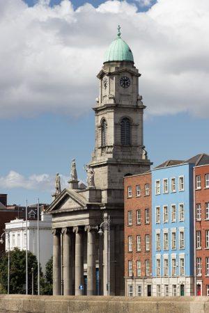 Quelques façades colorées dans Dublin