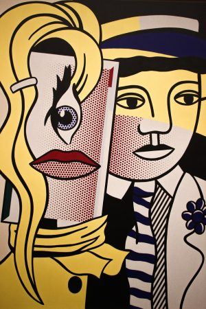 Un tableau de Roy Lichtenstein exposé au MET à New-York