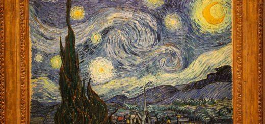La Nuit étoilée de Vincent Van Gogh exposée au MOMA à New-York