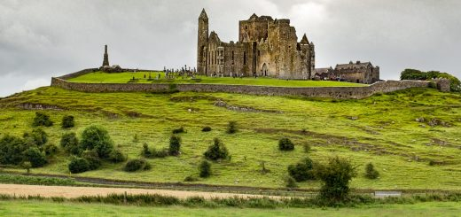 Le Rock of Cashel en Irlande