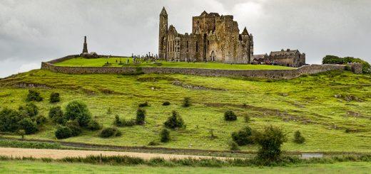 Le Rock of Cashel en Irlande