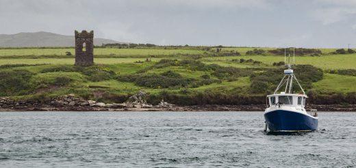 Un paysage dans la baie de Dingle