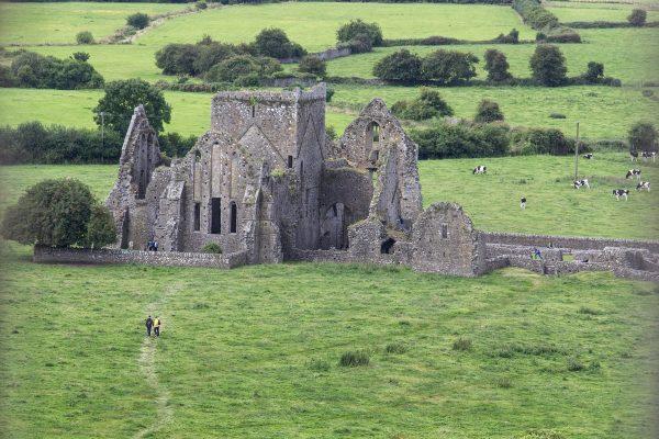 L'abbaye de Hore, en contrebas du Rock of Cashel
