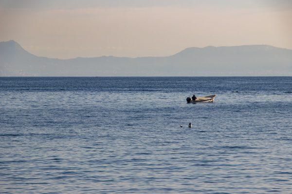 Dans la baie de Naples