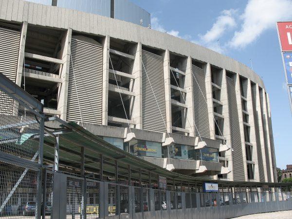 Le stade du Camp Nou de Barcelone