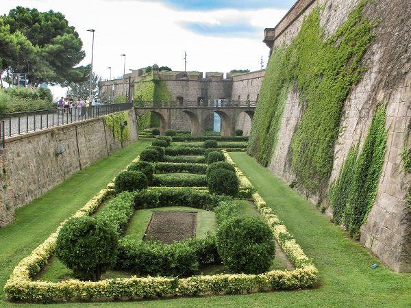Le château de Montjuic à Barcelone