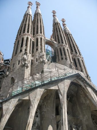 La basilique de la Sagrada Familia de Barcelone
