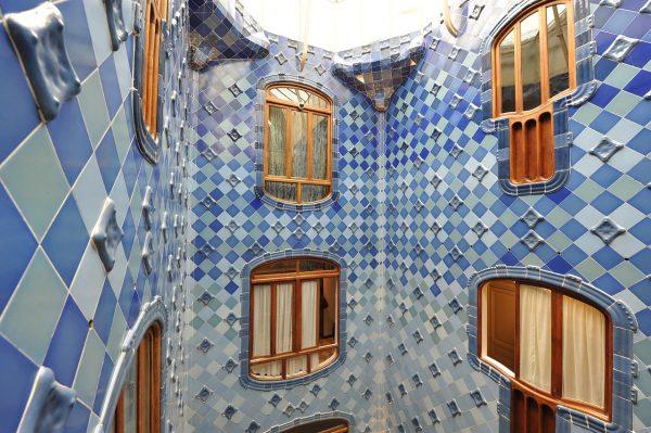 Dans la Casa Battlo de Barcelone