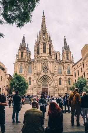 Cathédrale gothique de Barcelone