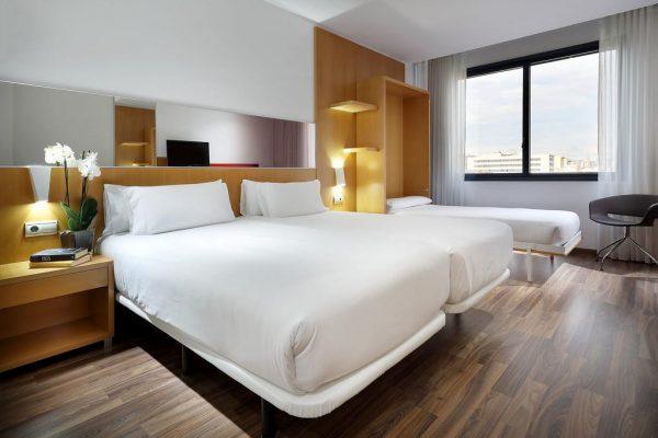 Une chambre de l'hôtel SB Icaria de Barcelone