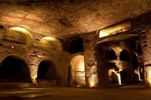 Catacombes de San Gennaro à Naples