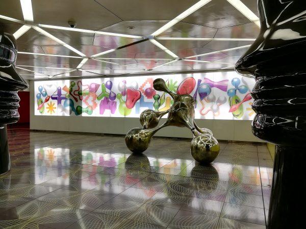 Visiter Naples passer également par ses stations de métro