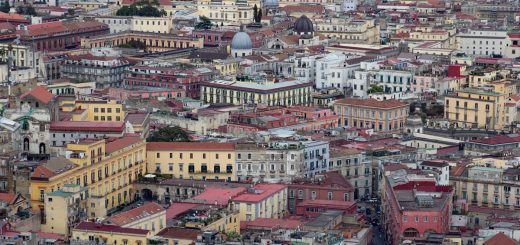 Panorama sur Naples