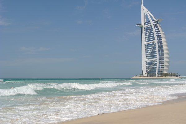 Building Sail Beach Burj à Dubai