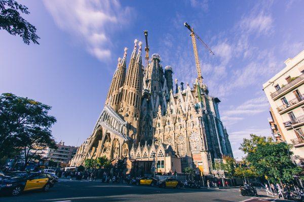 Extérieur de la Sagrada Familia
