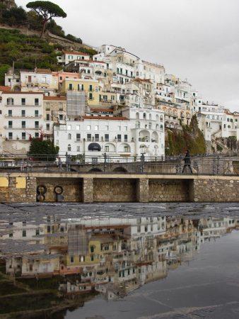 Amalfi sous la pluie