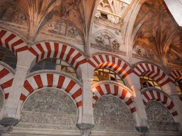 L'intérieur de la cathédrale de Cordoue