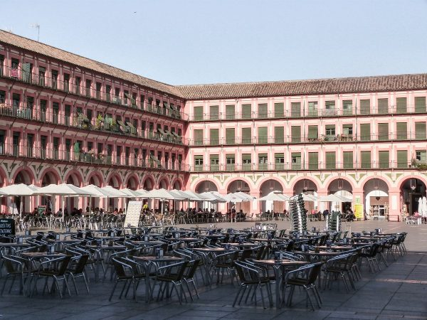 La Plaza Corredera de Cordoue