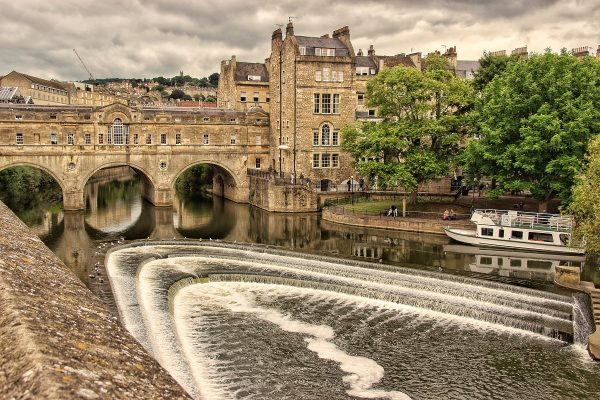 Le pont Pulteney de Bath