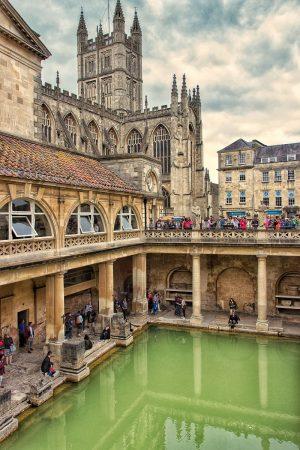 Les thermes romains de Bath