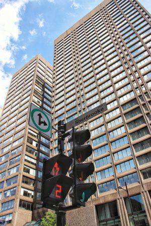 Panneaux de signalisation dans Montreal
