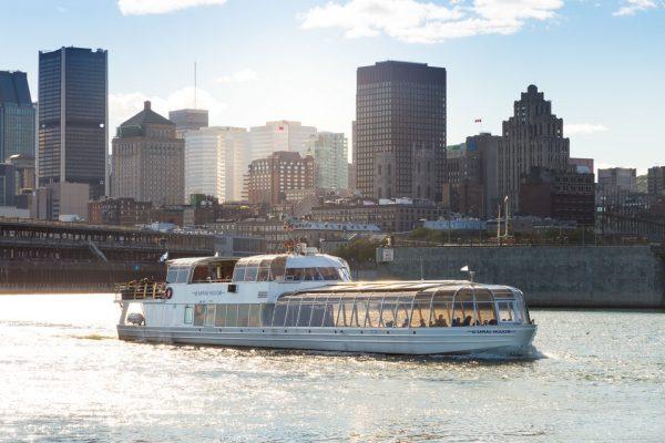 Croisière sur le fleuve Saint-Laurent à Montreal