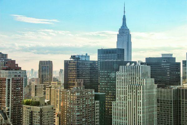 Les gratte-ciel de Manhattan avec l'Empire State Building