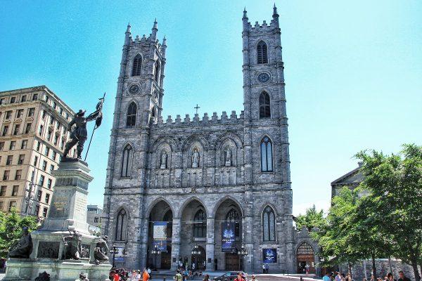 La basilique Notre-Dame de Montréal
