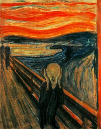 "Le tableau ""Le Cri"" d'Edouard Munch"