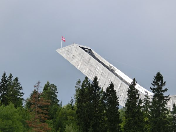 Le tremplin de ski de Holmenkollen