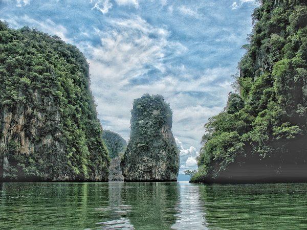 Les superbes paysages de la baie de Phang Nga à Phuket