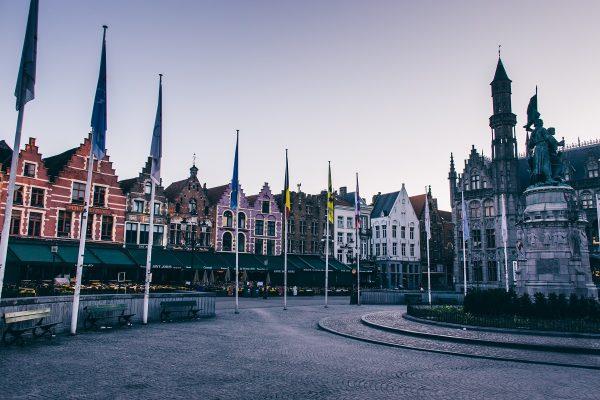 La Grand place de Bruges