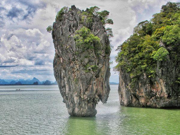 La James Bond Island en Thailande, dans la baie de Phang Nga