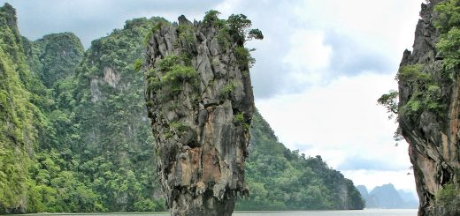 La James Bond Island près de Phuket