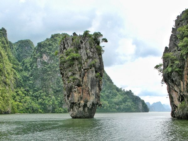 La James Bond Island près de Phuket