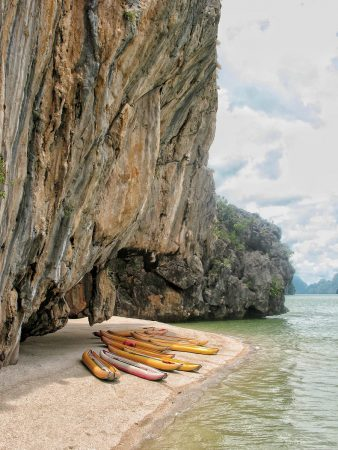 Une plage sur la James Bond Island