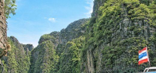 Vue sur Maya Bay durant l'excursion à Kho Phi Phi