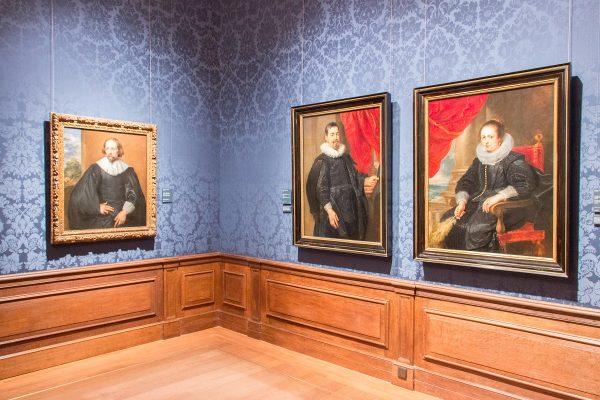 A l'intérieur du musée Mauritshuis de La Haye