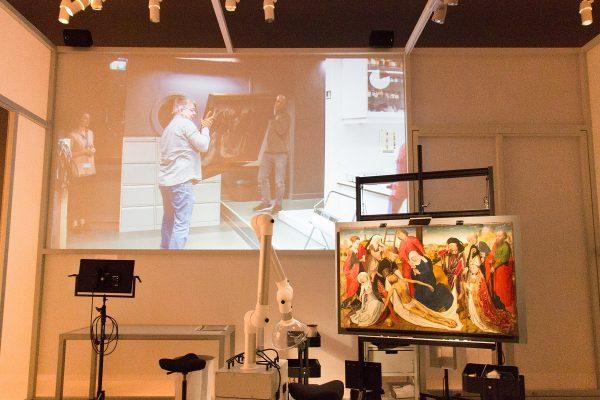 Une exposition temporaire au musée Mauritshuis de La Haye