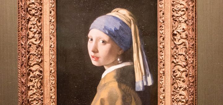 La jeune fille à la perle exposé au musée Mauritshuis de La Haye