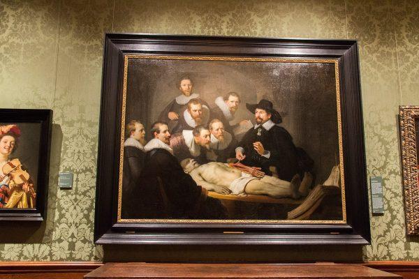 """Le tableau """"La leçon d'anatomie du Docteur Nicolas Tulp"""" de Rembrandt"""