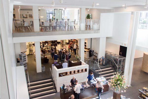 Le magasin de souvenirs du musée Mauritshuis de La Haye