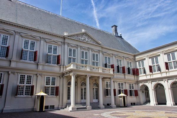 Le palais de Noordeinde de La Haye