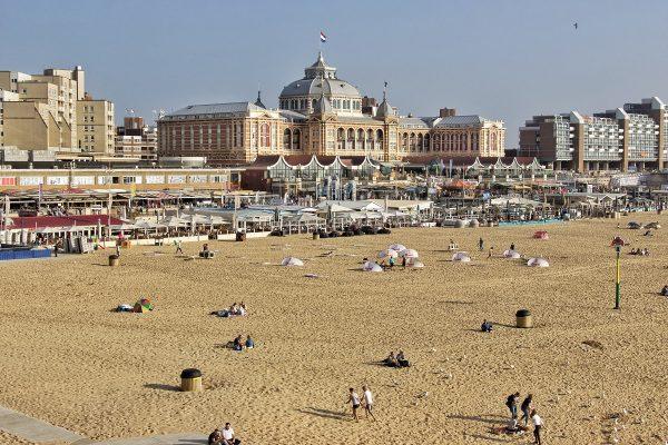 La plage de Scheveningen