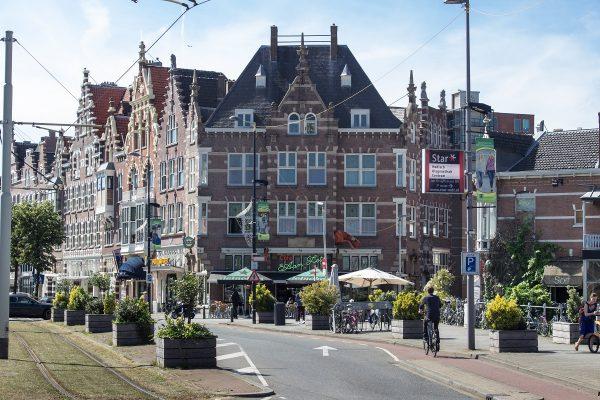 Le quartier Delfshaven de Rotterdam