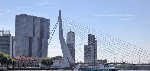La croisière Spido dans le port de Rotterdam