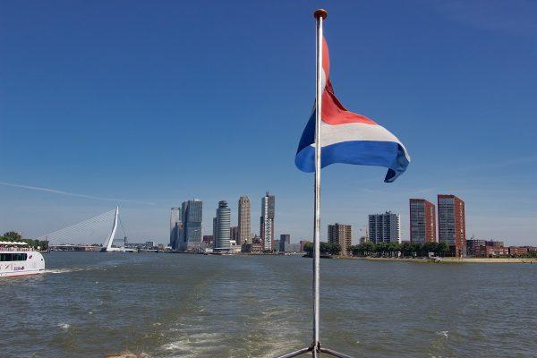 Sur la Meuse à Rotterdam